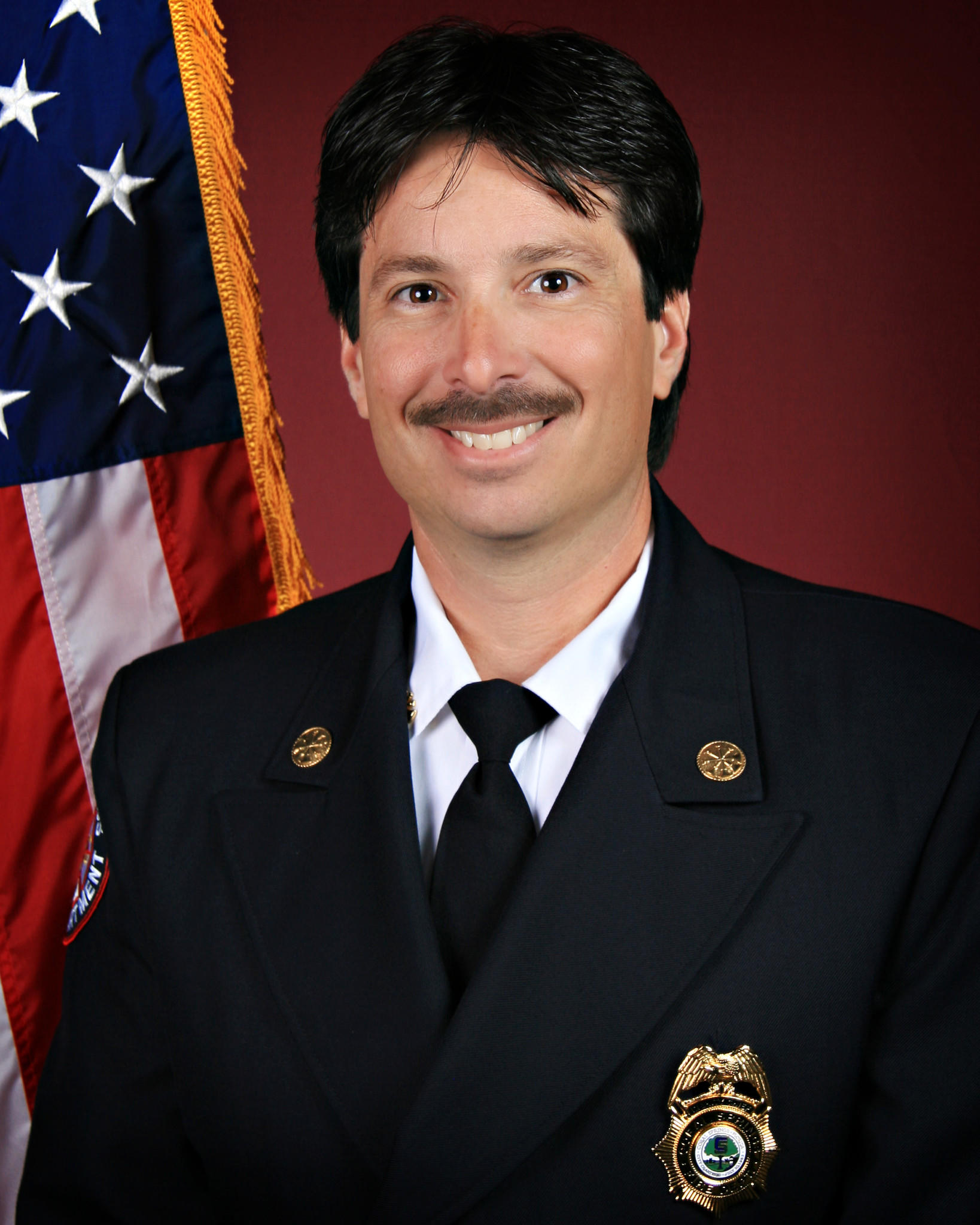 Coral Springs Fire Chief Frank Babinec