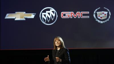 GM posts small fourth-quarter profit gain, but annual earnings fall