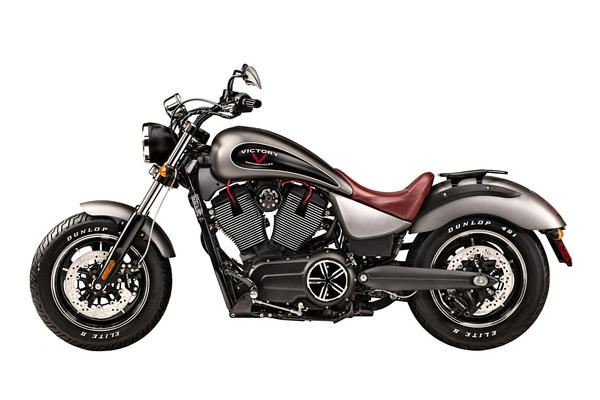 Signaling its intention to come after its competition with new vigor, the Victory motorcycle company has taken the wraps off its new urban cruiser, the Gunner.