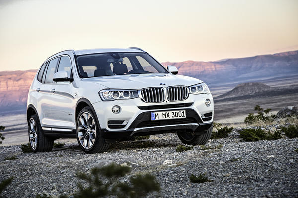 BMW announced Wednesday it was refreshing its X3 SUV and adding an optional diesel engine to the lineup.
