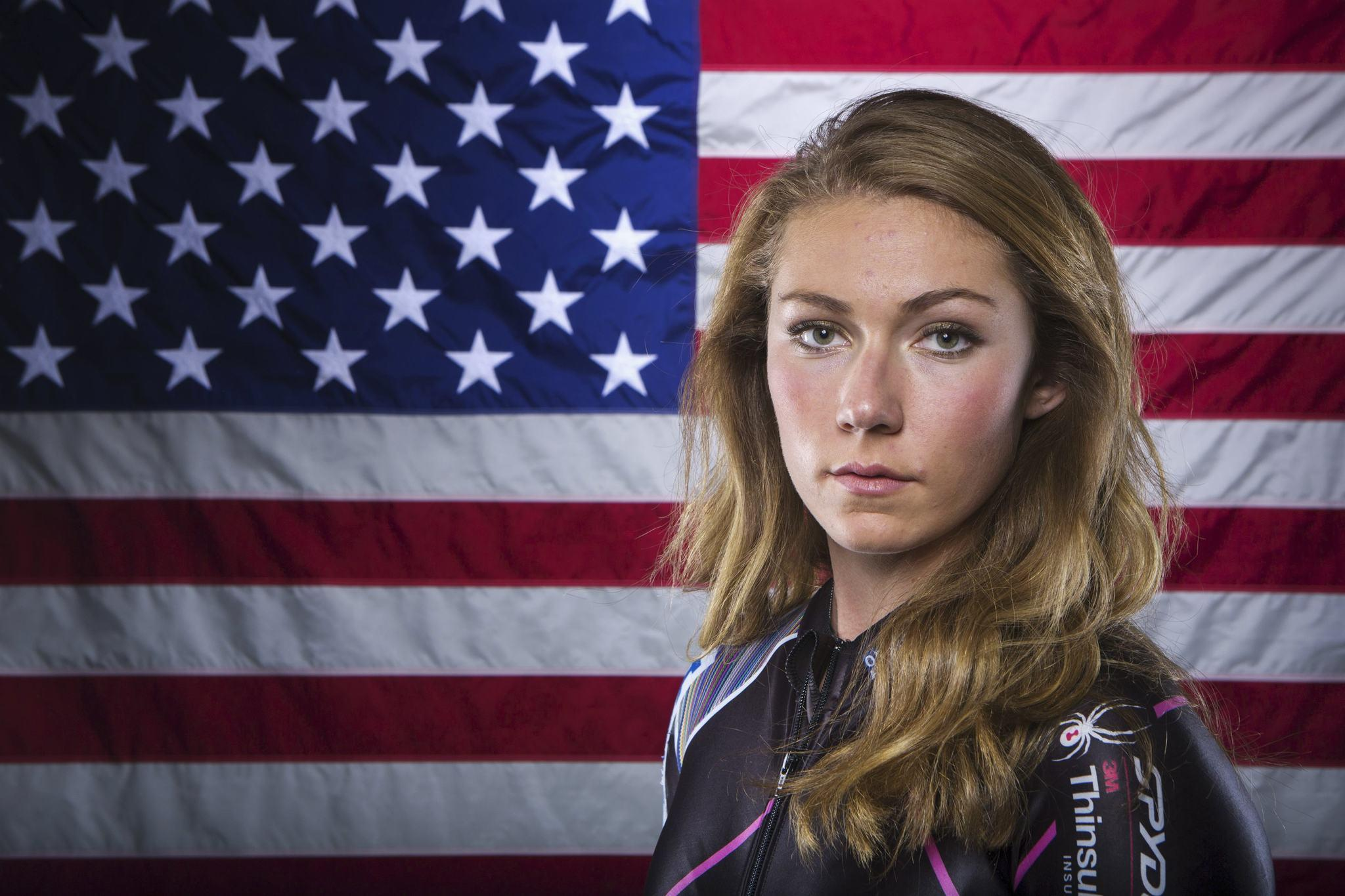 Mikaela Shiffrin poses for a portrait during the 2013 U.S. Olympic Team Media Summit in Park City, Utah. (Lucas Jackson/Reuters Photo)