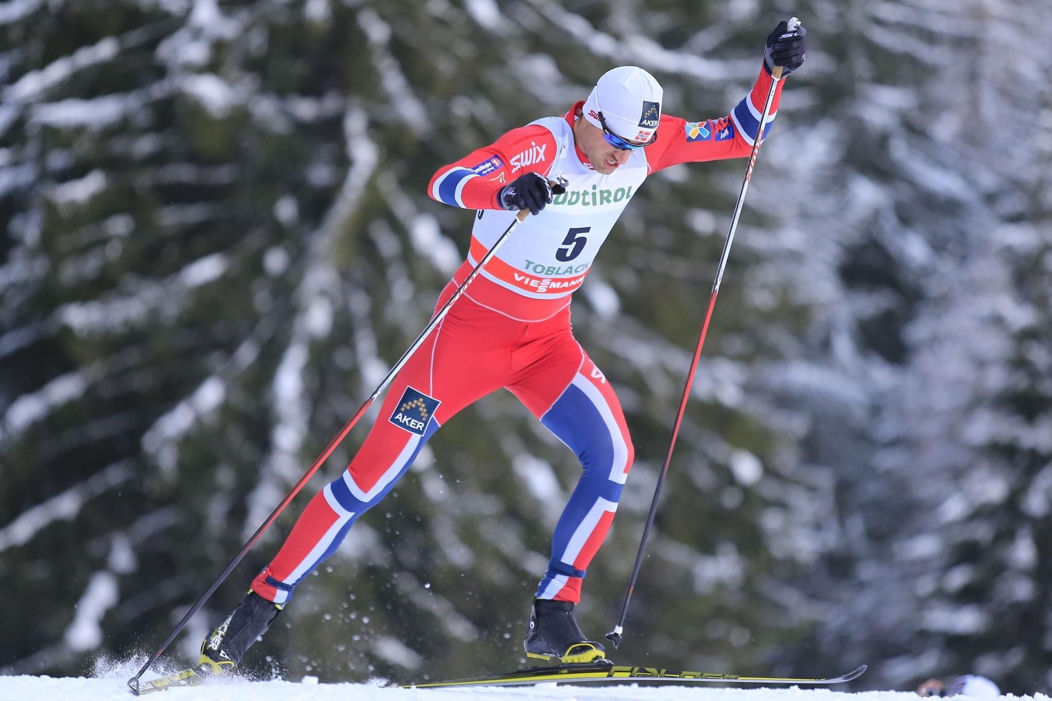 Norway's Petter Northug competes Dobbiaco, Toblach. (Pierre Teyssot/Getty Photo)