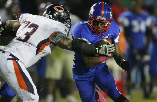 Gardena Serra running back Adoree' Jackson is among USC's prized recruits.