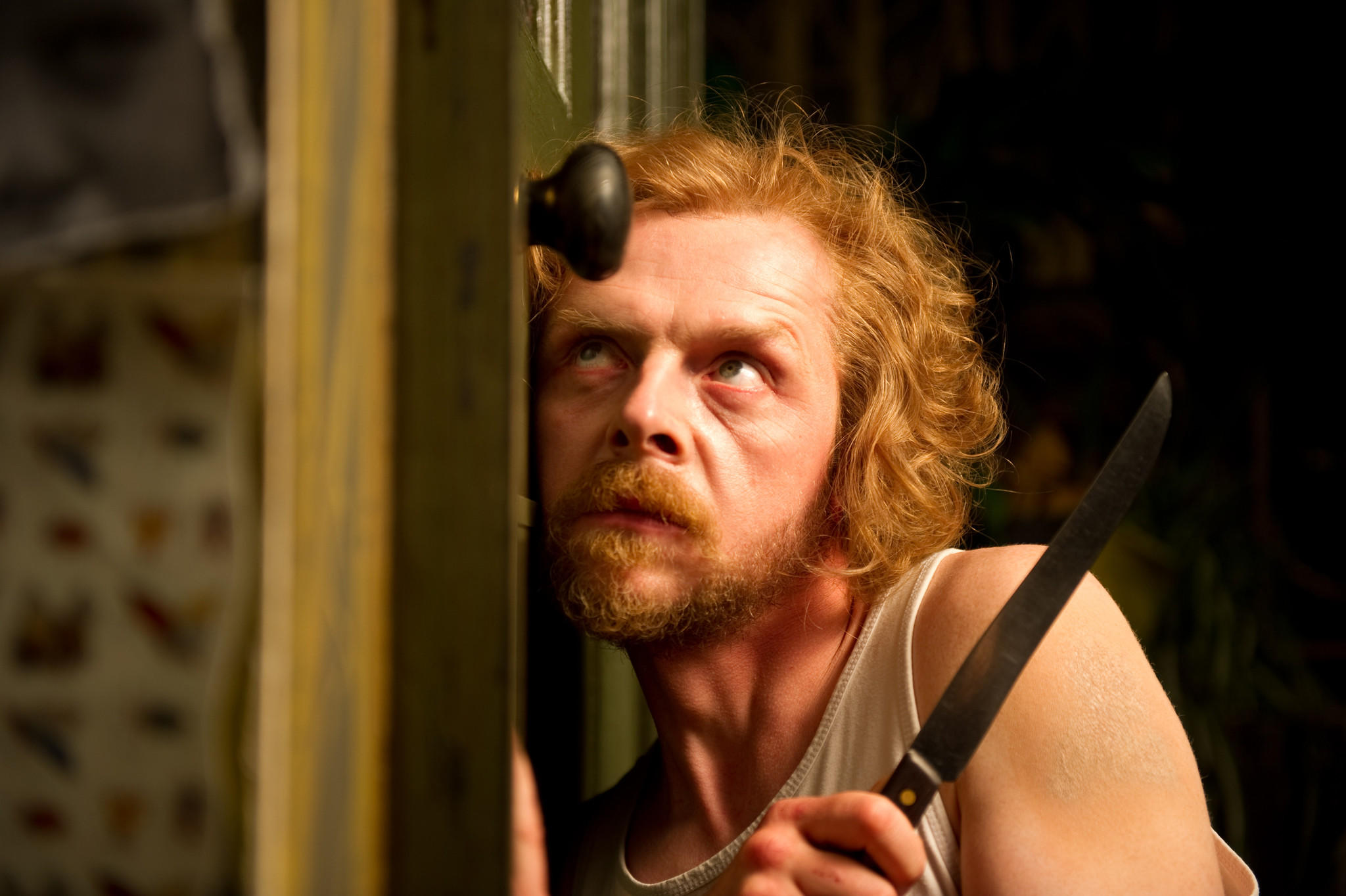 "Simon Pegg in ""A Fantastic Fear of Everything."""