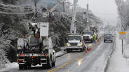 Power restoration could last into Friday, before weekend snow chance