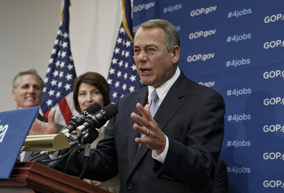 John Boehner , Cathy McMorris Rodgers, Kevin McCarthy