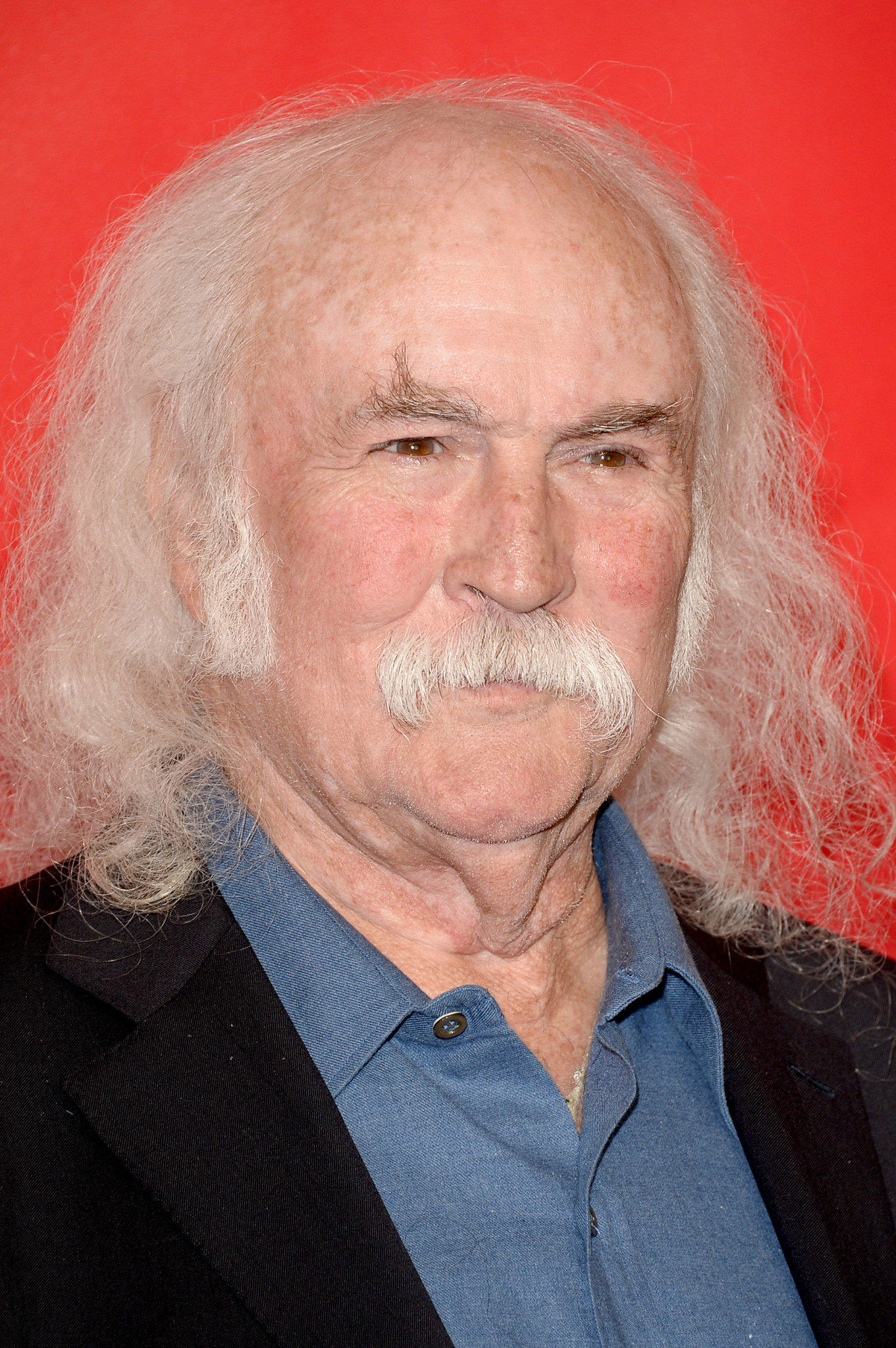 Singer David Crosby attends The 2014 MusiCares Person Of The Year Gala Honoring Carole King.
