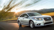 Chicago Auto Show: Subaru unveils all-new 2015 Legacy sedan