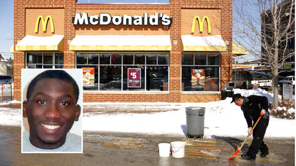 McDonald's shooting scene