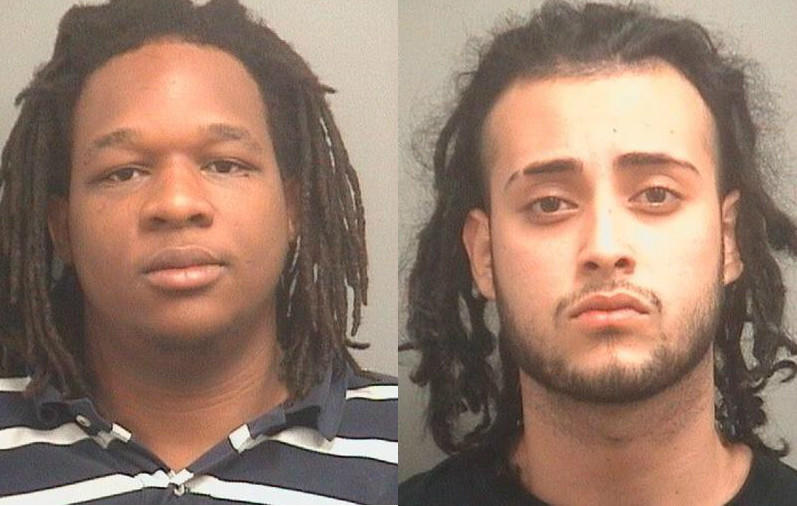 Pedro McCartney, 21, and Fernando Medina, 19, were arrested on Feb. 5, 2014. McCartney faces a marijuana possession charge while Medina is accused of possessing a sawed-off shotgun.