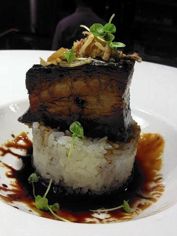 The kurabuta pork belly at Kabooki Sushi in Orlando.