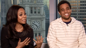 Michael Ealy and Regina Hall talk 'About Last Night'