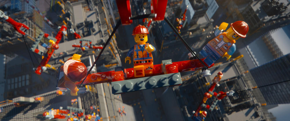 "A scene from the Warner Bros. film ""The Lego Movie,"" which will be released nationwide this weekend."