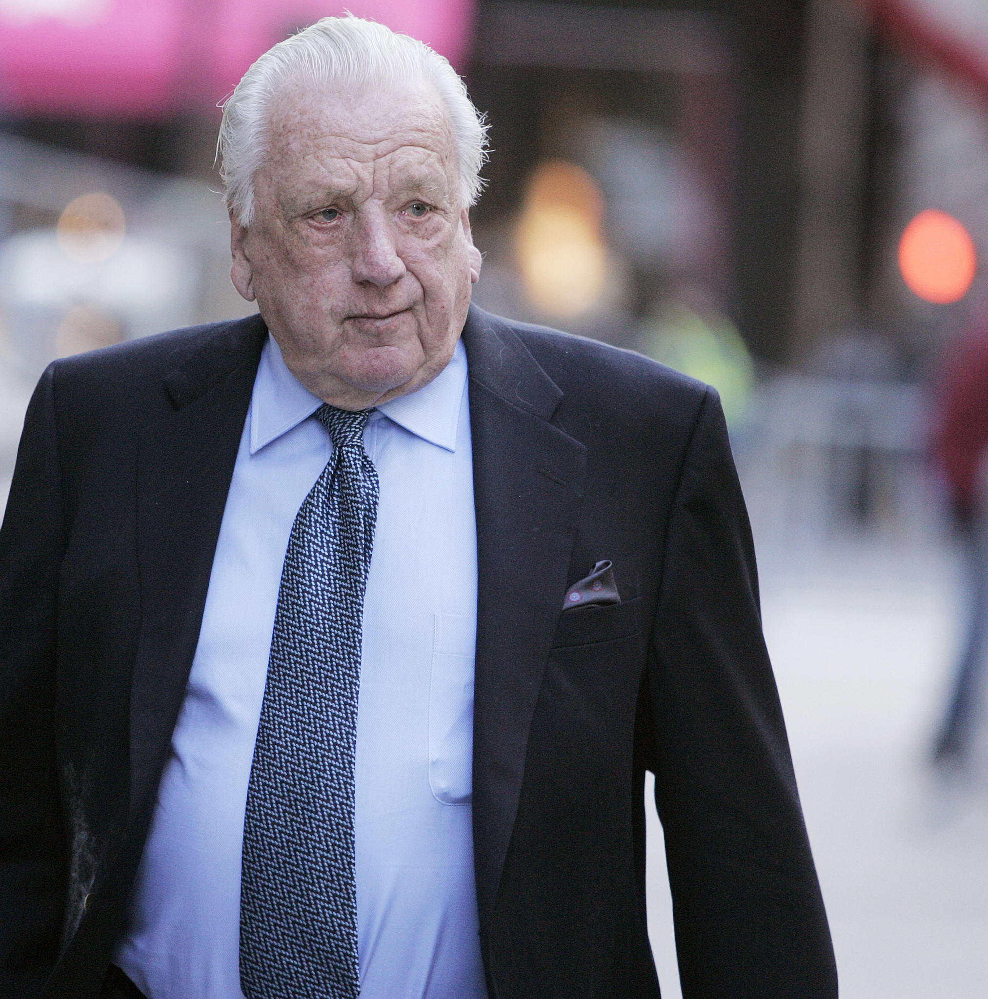 Baseball Hall of Famer Ralph Kiner, pictured in 2005, died Thursday at age 91.