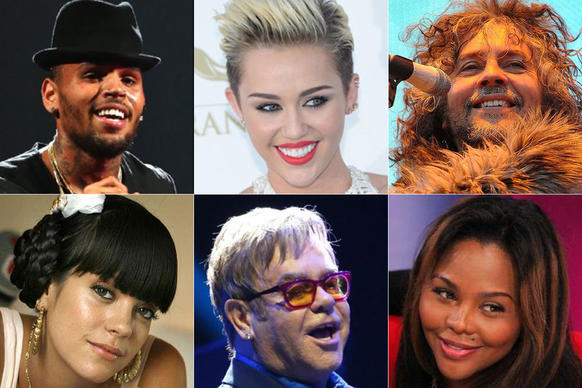 <br>Beefs, brawls, fights, feuds -- call them what you will. These things happen. See some of the most infamous here, varying from rap artists and pop queens to country crooners and rock stars.<br><br>