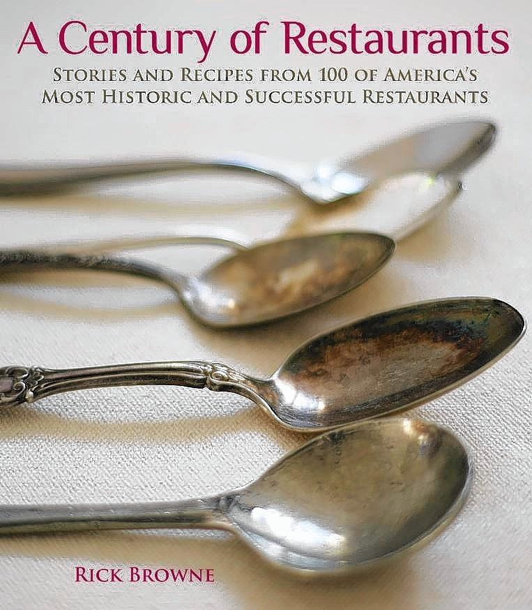 "Cover of Rick Browne's book ""A Century of Restaurants."""