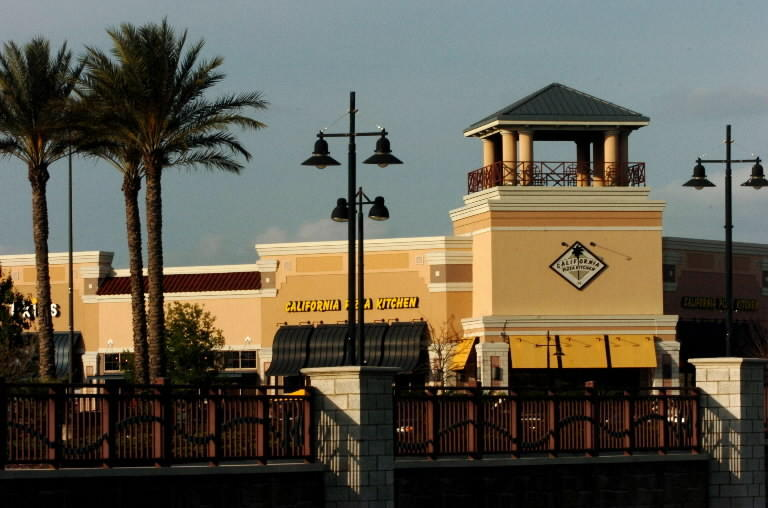 Waterford Lakes Town Center off of Alafaya Trail in Orlando.