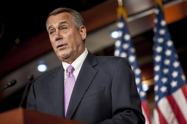 House Speaker John A. Boehner