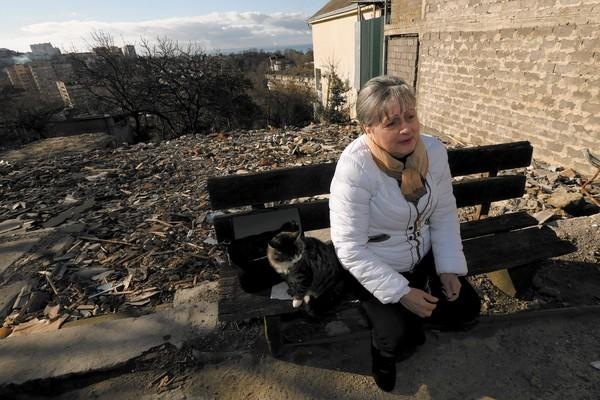 """There is nothing I hate so much as these Olympic Games, which made me and my family a miserable bunch of bums,"" said Sochi resident Nina Toromonyan, 63, whose family lost its home and land."