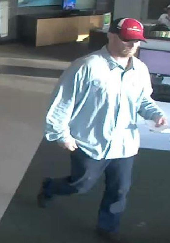 The FBI is searching for a man who robbed a TD Bank in Lighthouse Point