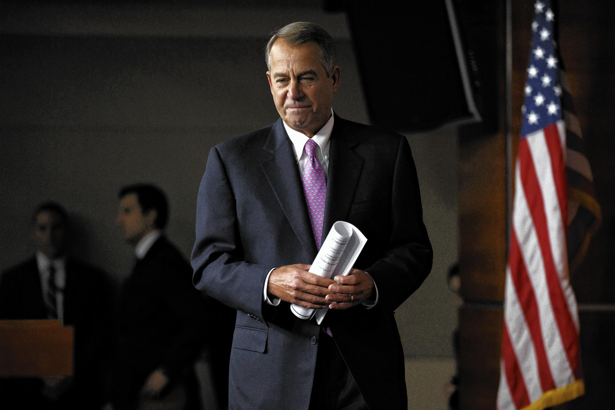 House Speaker John A. Boehner (R-Ohio) has faced considerable opposition from conservatives in his party over proposed immigration measures.