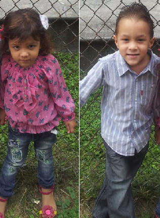 Erielys And John Ahorrio were abducted in Lancaster, Pa. Thursday night, according to police. Police believe the abductors may be heading to Massachusetts with the children in a black Nissan Altima.