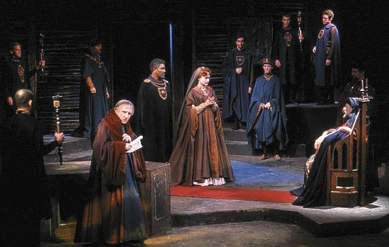 "Hartford Stage's first production was of William Shakespeare's ""Othello."""