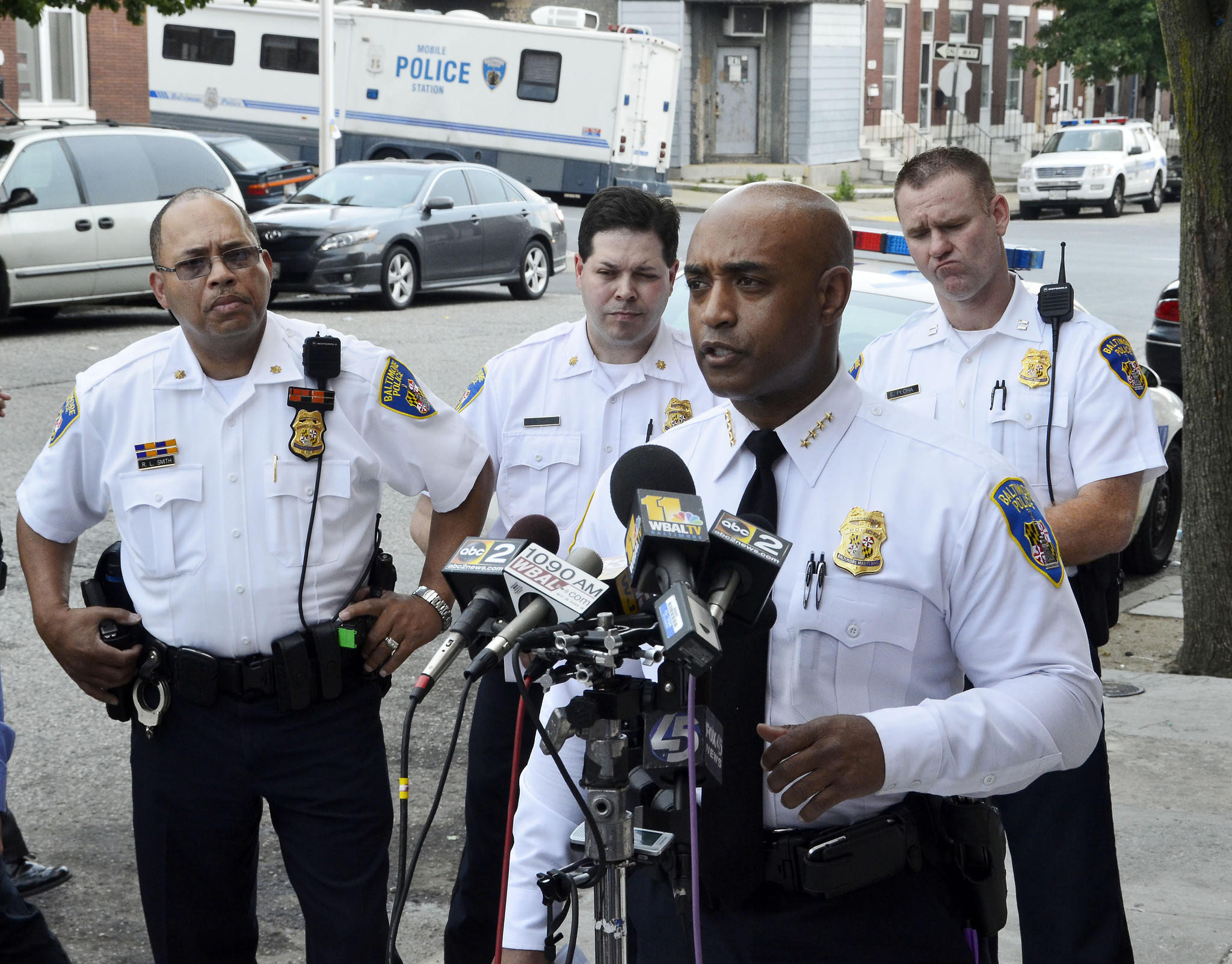 Police Commissioner Anthony Batts is shown in a Baltimore Sun file photo.