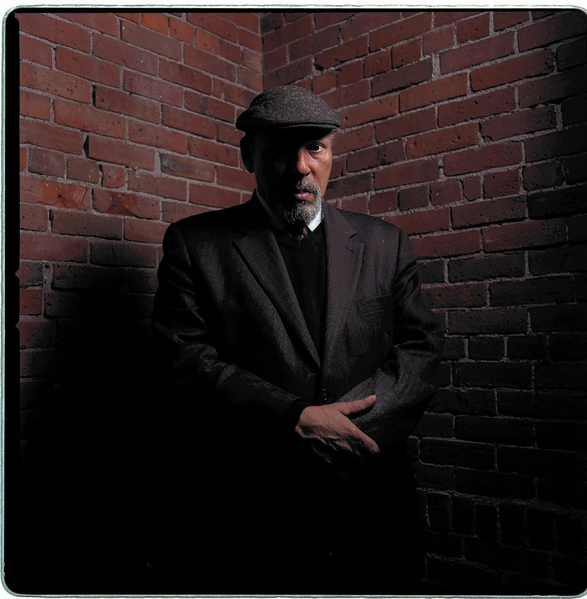"Playwright August Wilson during rehearsals of ""Radio Golf"" at the Yale Repertory Thearte in 2005."