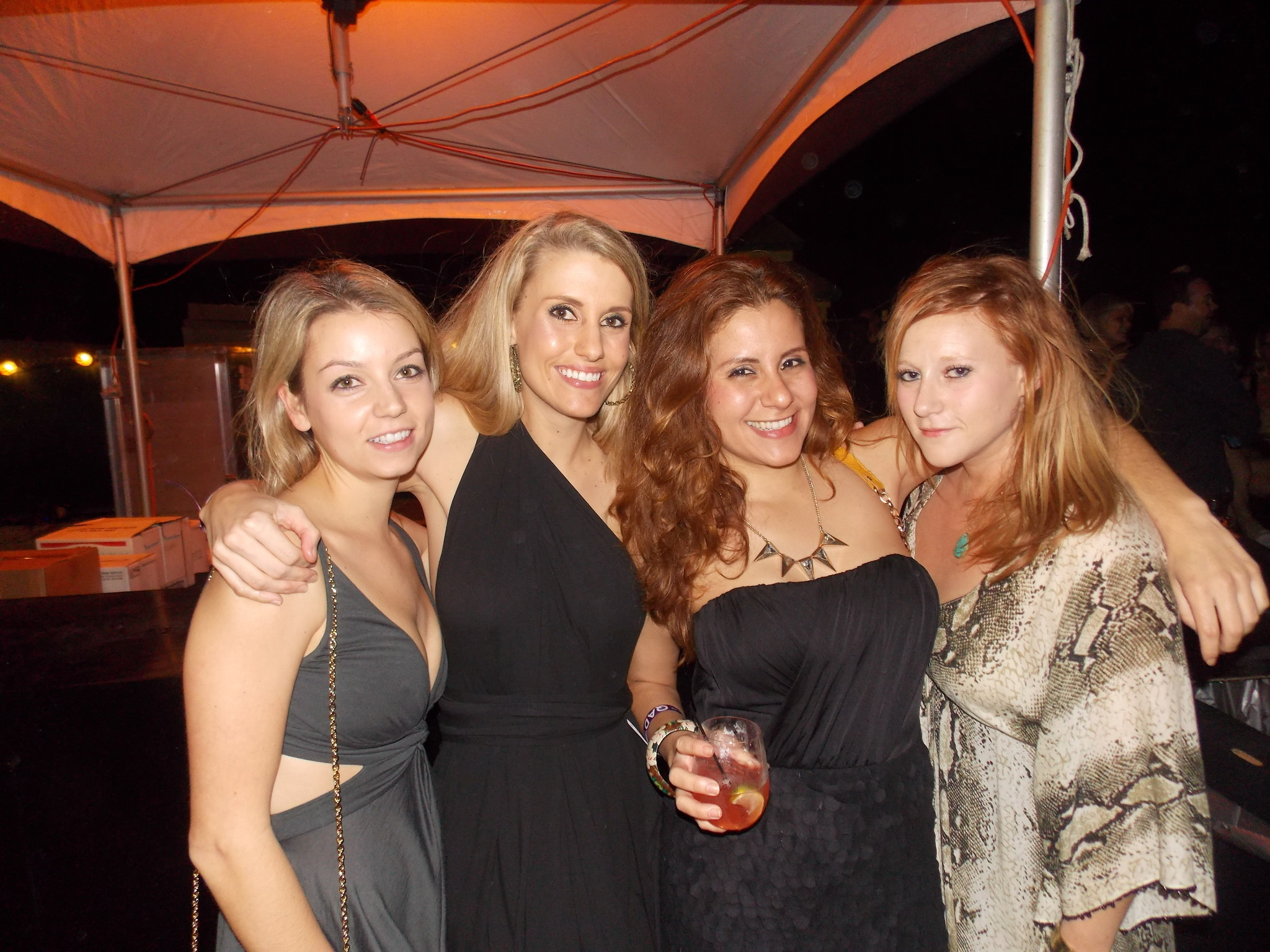 Spot your friends at SoBe Wine and Food Festival - Moet Hennessy Q After Dark