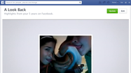 Facebook updates Look Back