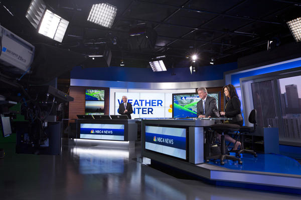 KNBC moved into new studio in February 2014