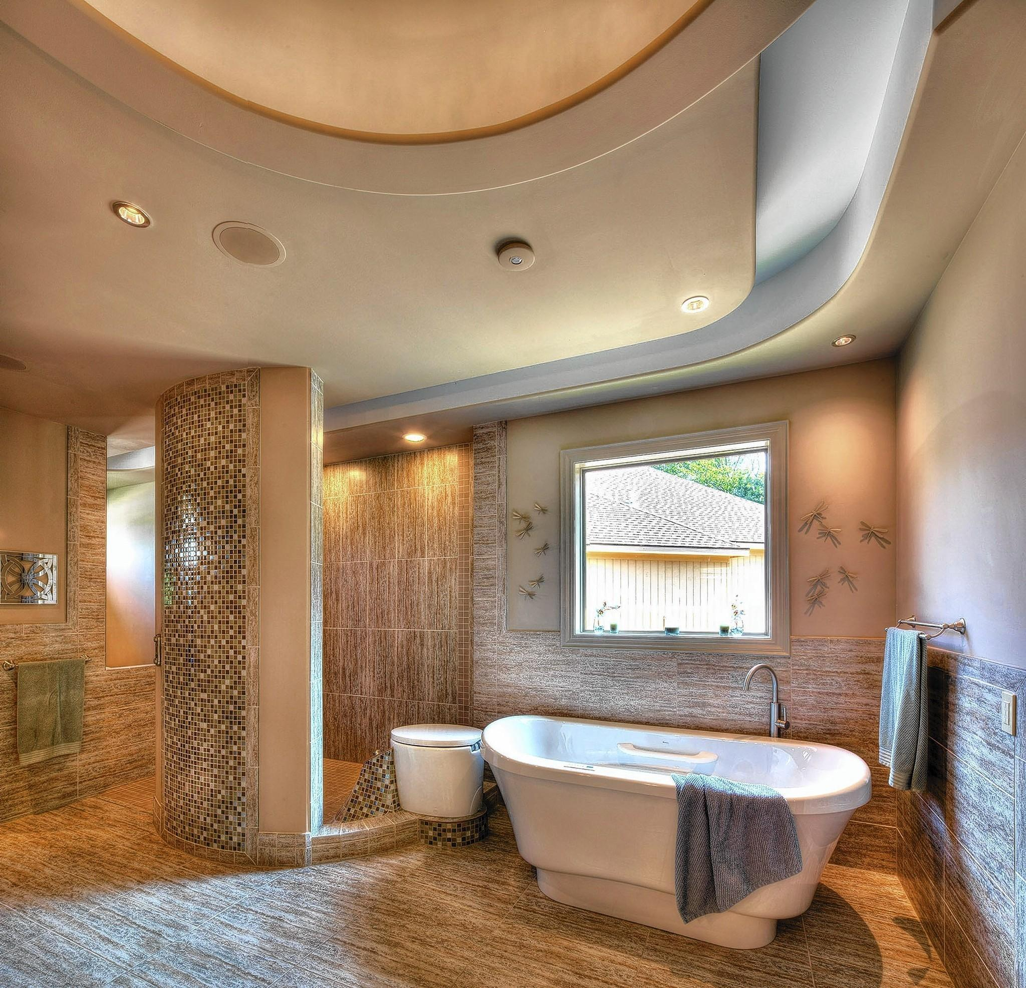 Beige And Bone Are Among The Top Bath Color Schemes.