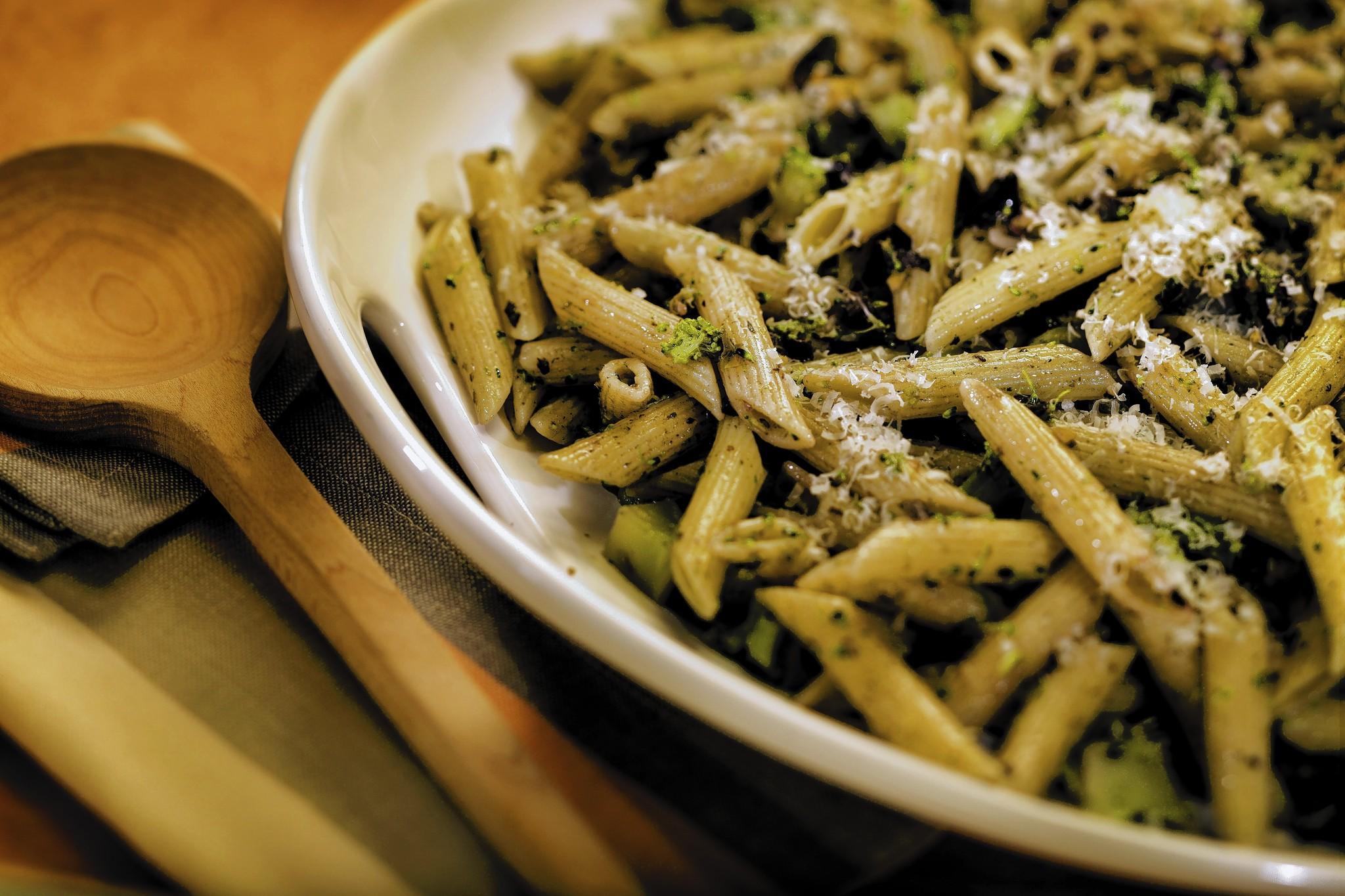 Sicilian Broccoli And Cauliflower Pasta Recipe — Dishmaps