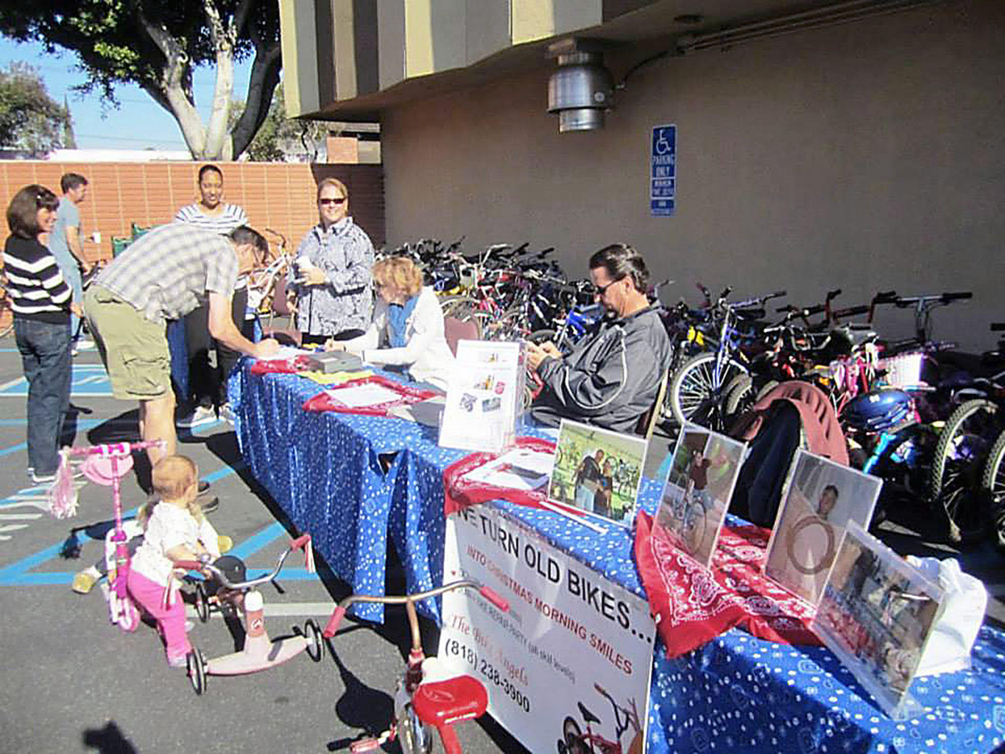 The Burbank Assn. of Realtors Community Service Foundation held its inaugural bicycle drive last month, collecting more than 100 bikes and $1,000 in cash that were then donated to Burbank Bike Angels, a volunteer group that refurbishes donated bikes and gives them to children in the community.