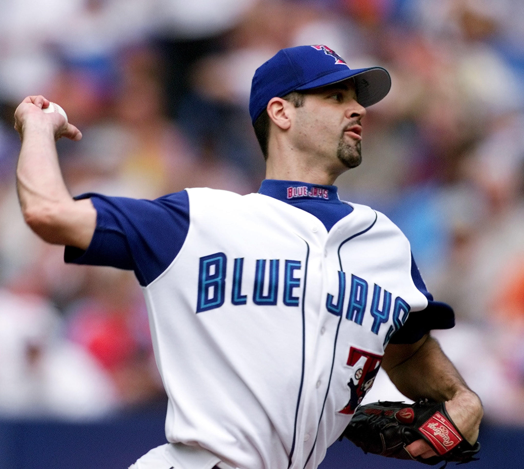 Pete Walker in a 2002 file photo, when he pitched for the Toronto Blue Jays.