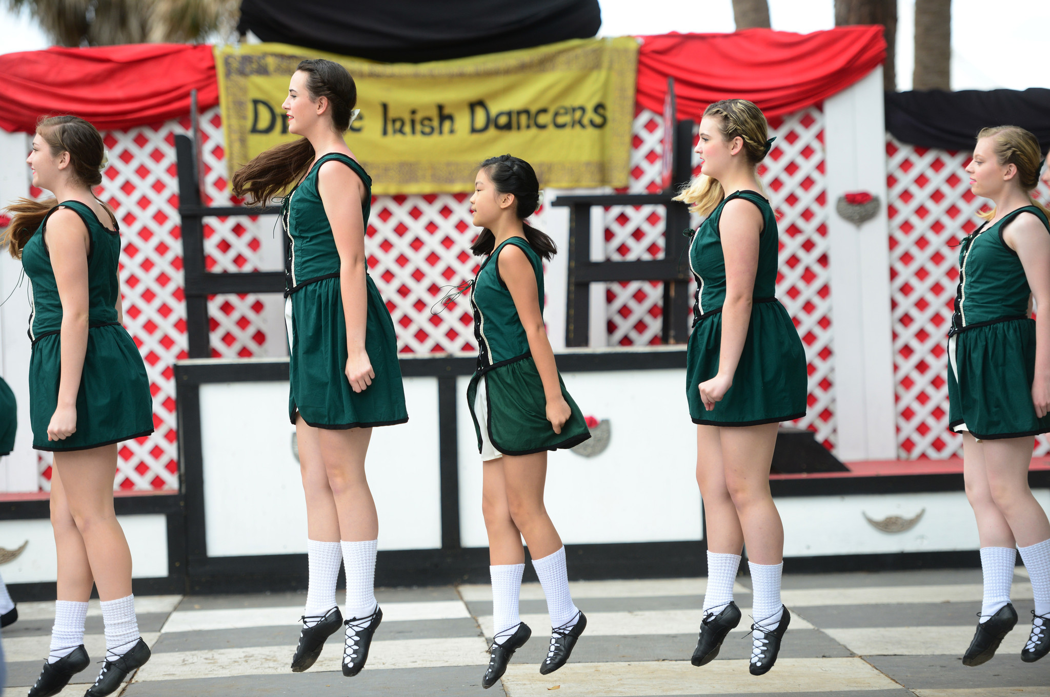 Renaissance Festival photos - Drake Irish Dancers