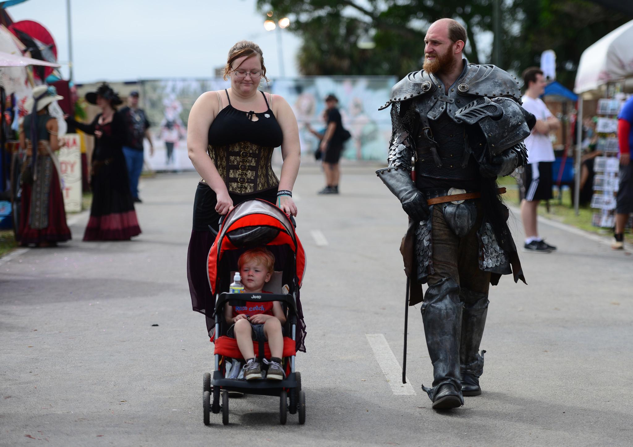 Renaissance Festival photos - Stroller