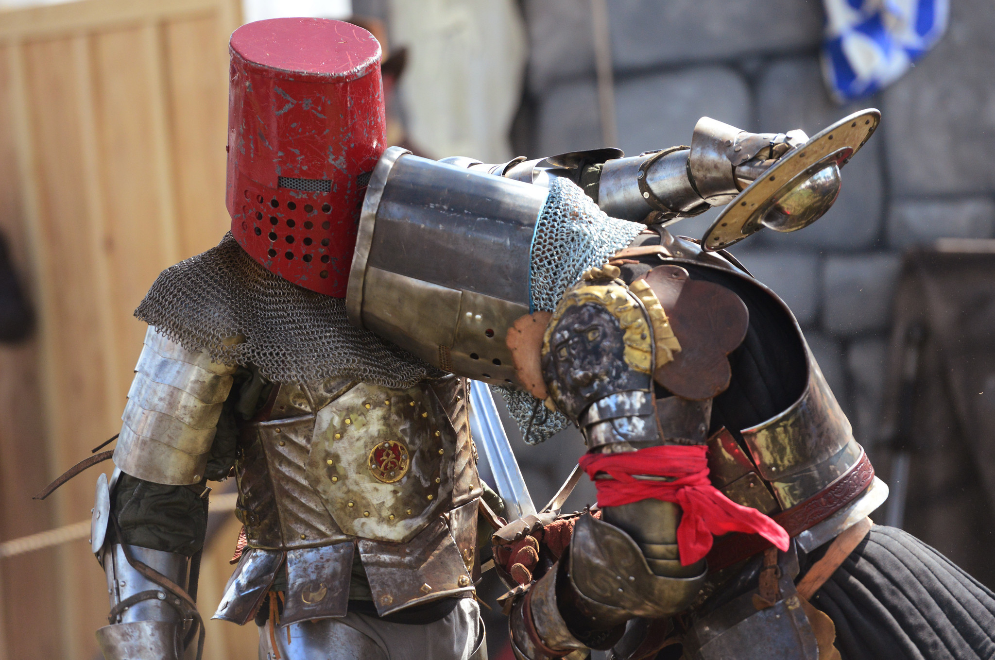 Renaissance Festival photos - History of Chivalry