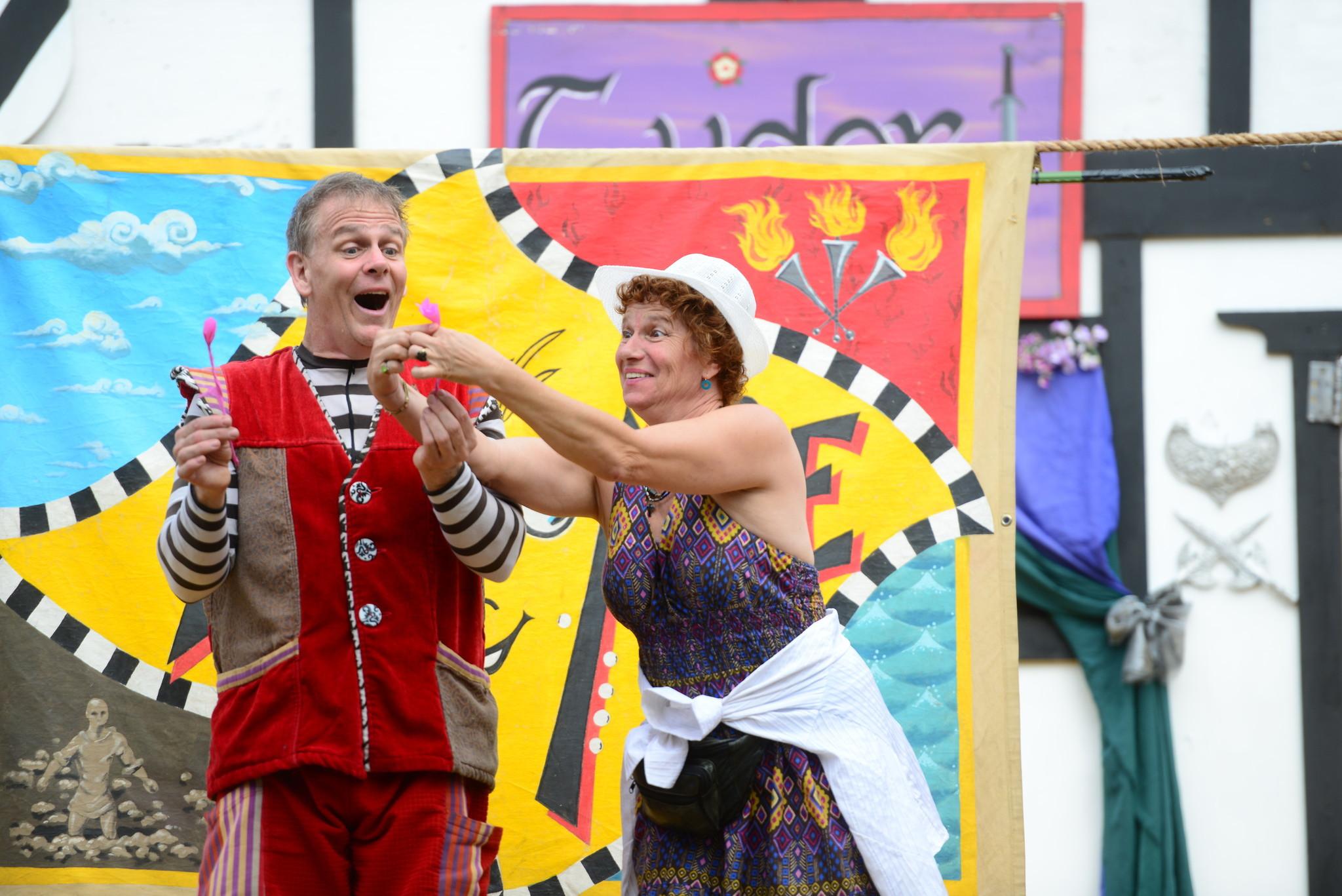 Renaissance Festival photos - Moonie the clown