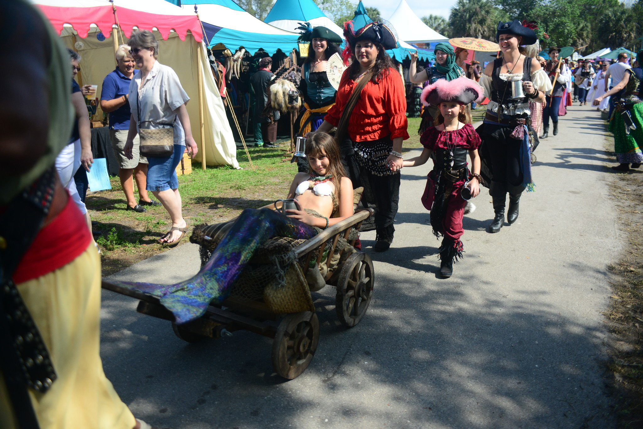 Renaissance Festival photos - Mermaid