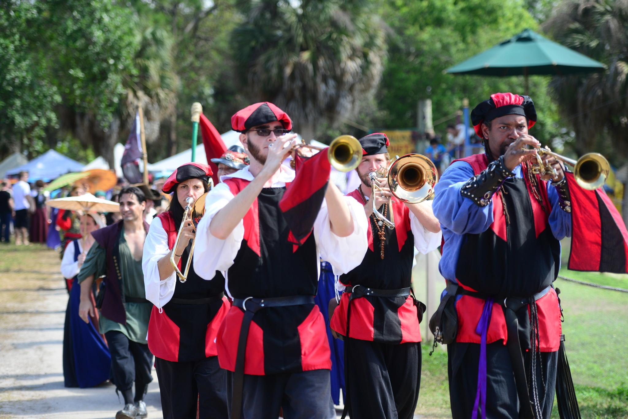 Renaissance Festival photos - Heraldry