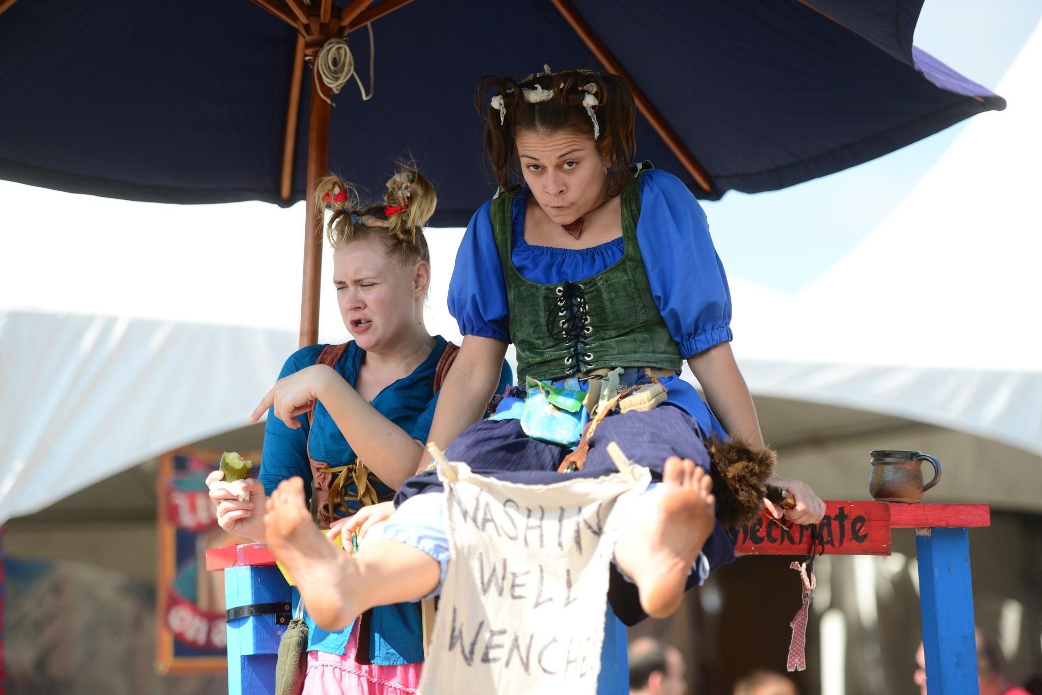 Renaissance Festival photos - Wenches