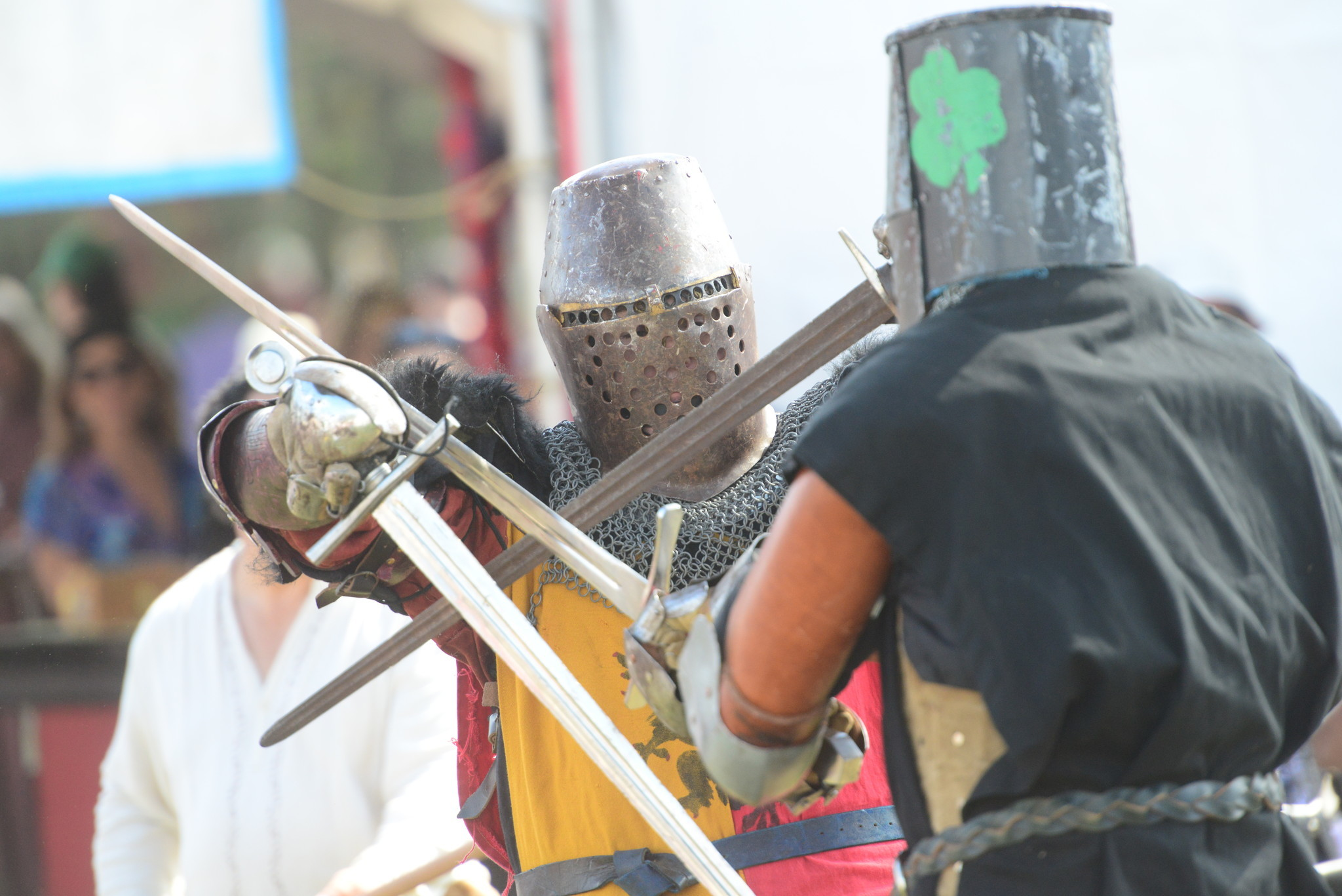 Renaissance Festival photos - Steel