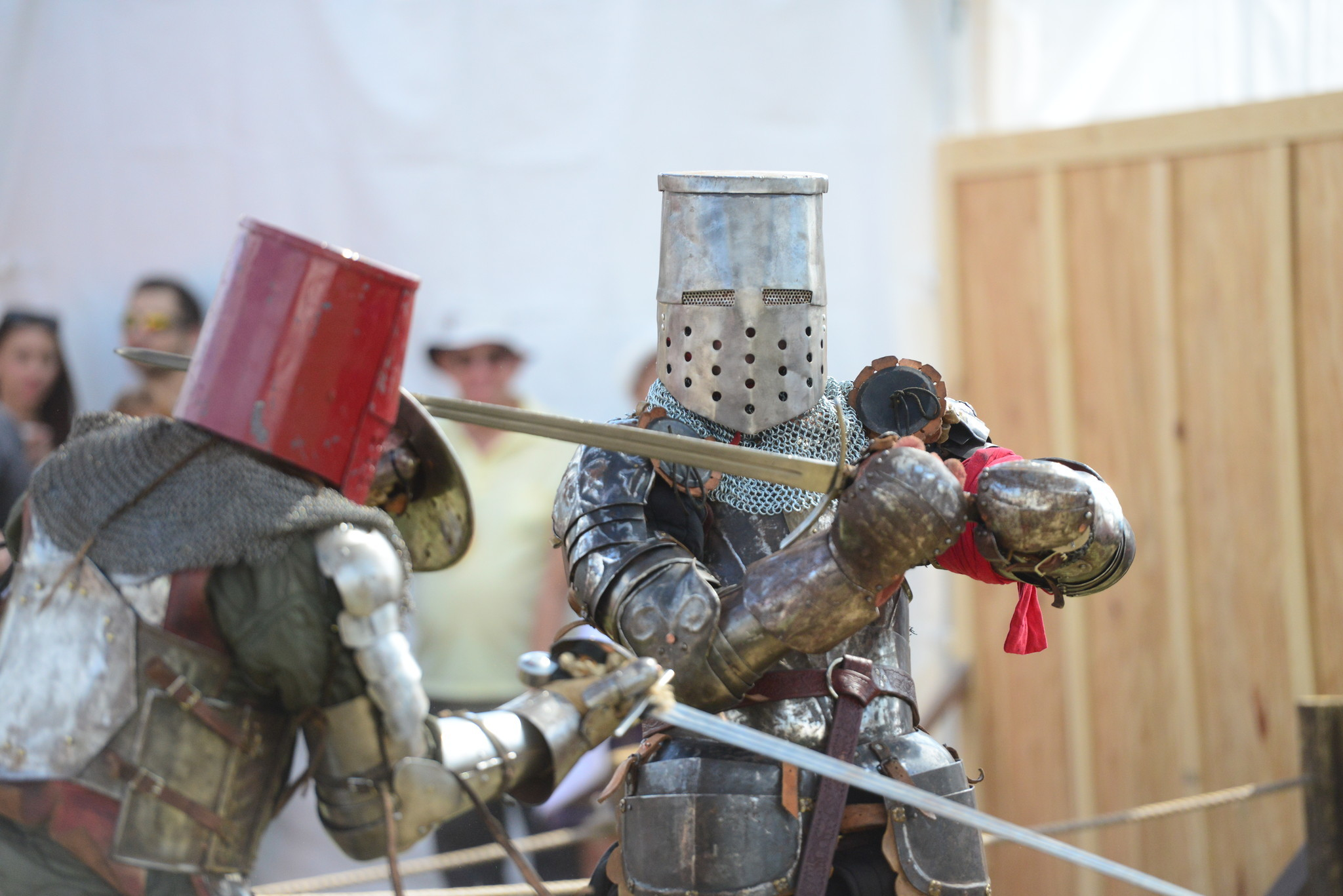 Renaissance Festival photos - Fight