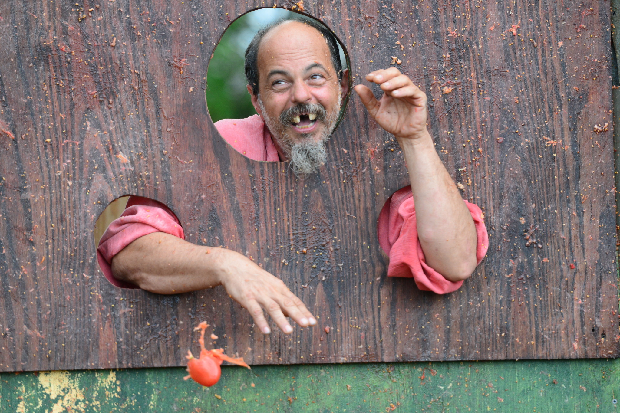 Renaissance Festival photos - Sean the tomato guy