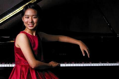 Sarina Zhang performed with the Orlando Philharmonic Orchestra this weekend.