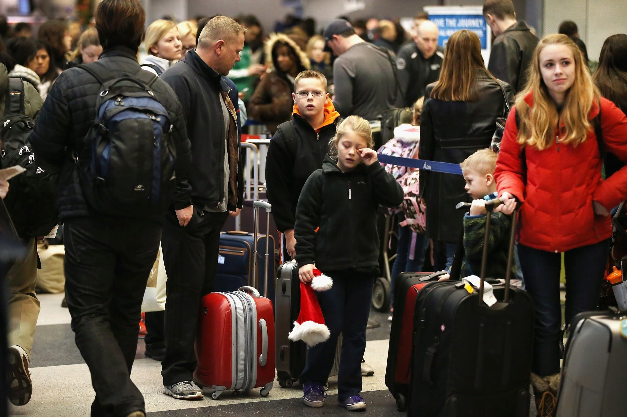 The TSA says allegations of agents having low morale and targeting and making fun of travelers at Chicago O'Hare are lies or describe long-abandoned practices.