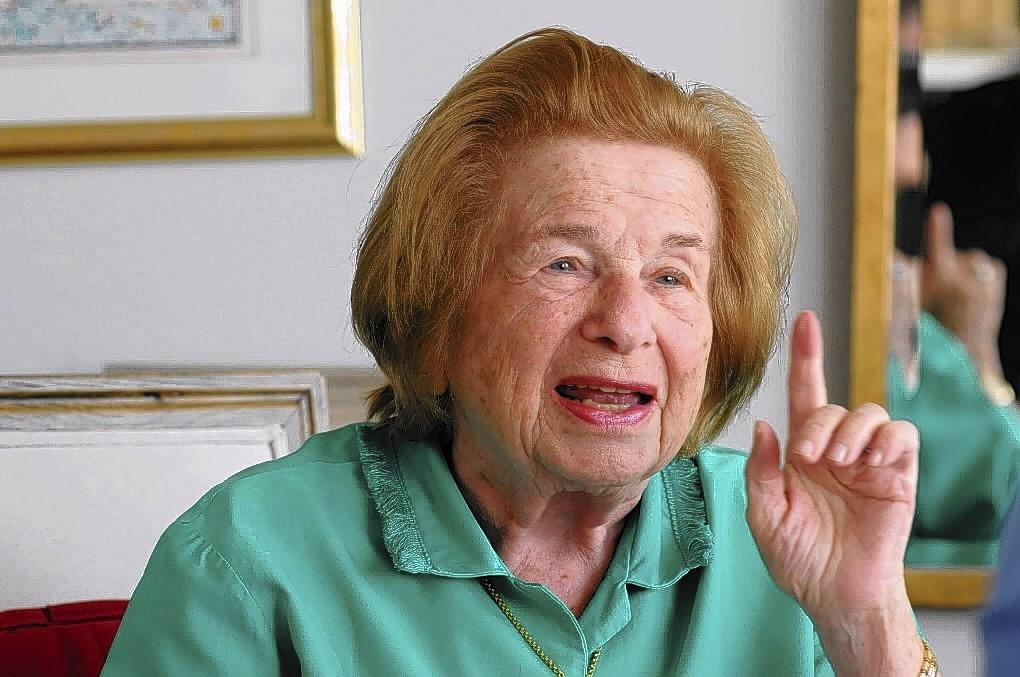 Dr. Ruth Westheimer, author, columnist and recognized authority on sex, will speak at the Big Book Getaway at Mohegan Sun on Feb. 22 at 10 a.m.