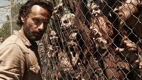 "Rick Grimes and the rest of ""The Walking Dead's"" survivors face off against the Governor, a deadly virus and the unknown in Season 4 of the AMC drama."